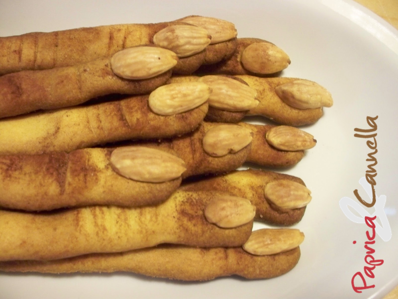 Dolcetto o scherzetto – Dita da strega in pasta frolla