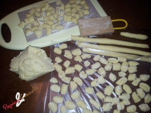 gnocchi di patate - paprica e cannella