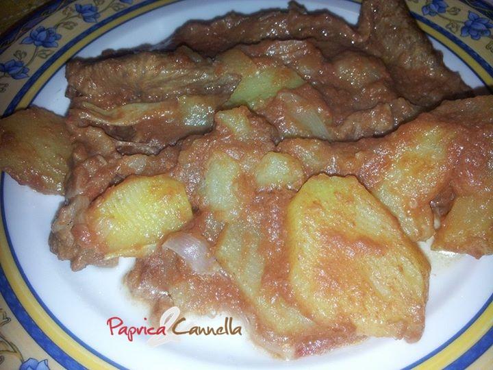 Carne alla Pizzaiola con patate