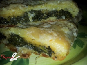 sfoglia di spinaci - paprica e cannella