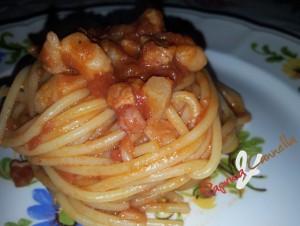 spaghetti alla matriciana - paprica e cannella