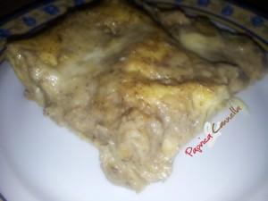 lasagne con i funghi - paprica e cannella