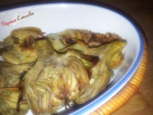 carciofi - paprica e cannella
