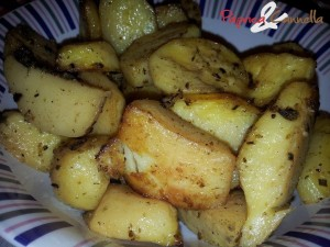 patate al vino bianco - paprica e cannella