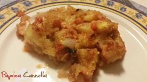 zucchine gratinate -paprica e cannella