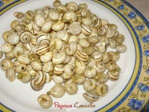 Lumache all'aglio - paprica e cannella