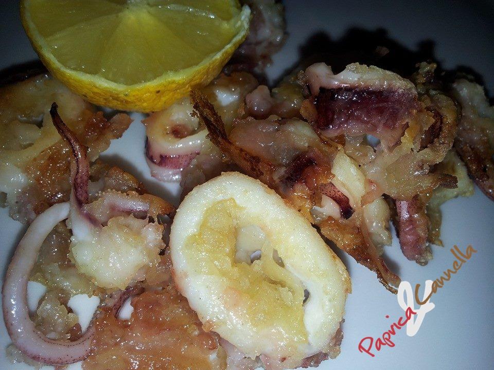 Anelli di calamari croccanti cottura al forno