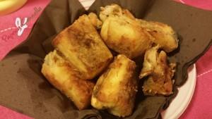baccalà fritto - paprica e cannella
