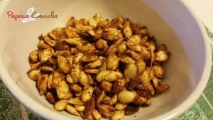 semi di zucca alla paprica piccante - paprica e cannella