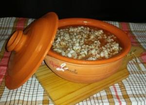 zuppa di farro - paprica e cannella