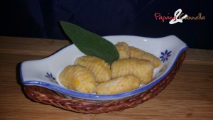 gnocchi di zucca - papricaecannella