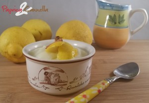 crema bianca al limone - paprica e cannella