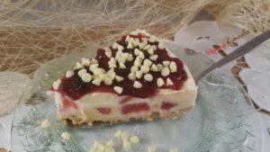 torta gelato alla frutta - paprica e cannella