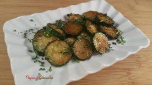 zucchine trifolate paprica e cannella