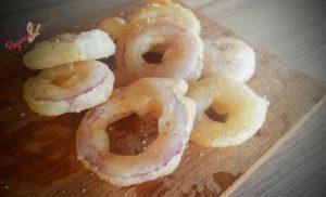 anelli di cipolla - paprica e cannella