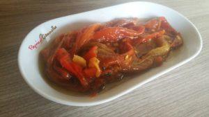 peperoni arrostiti - paprica e cannella