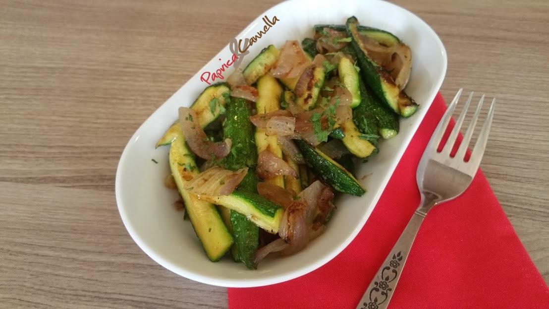 Zucchine mignon al tegame