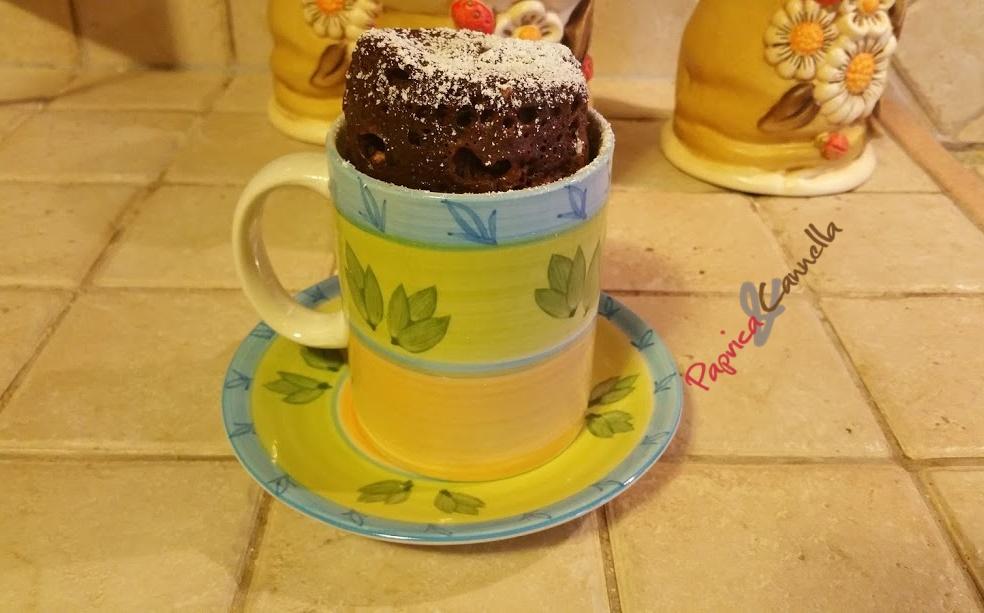 Torta in tazza cottura in microonde
