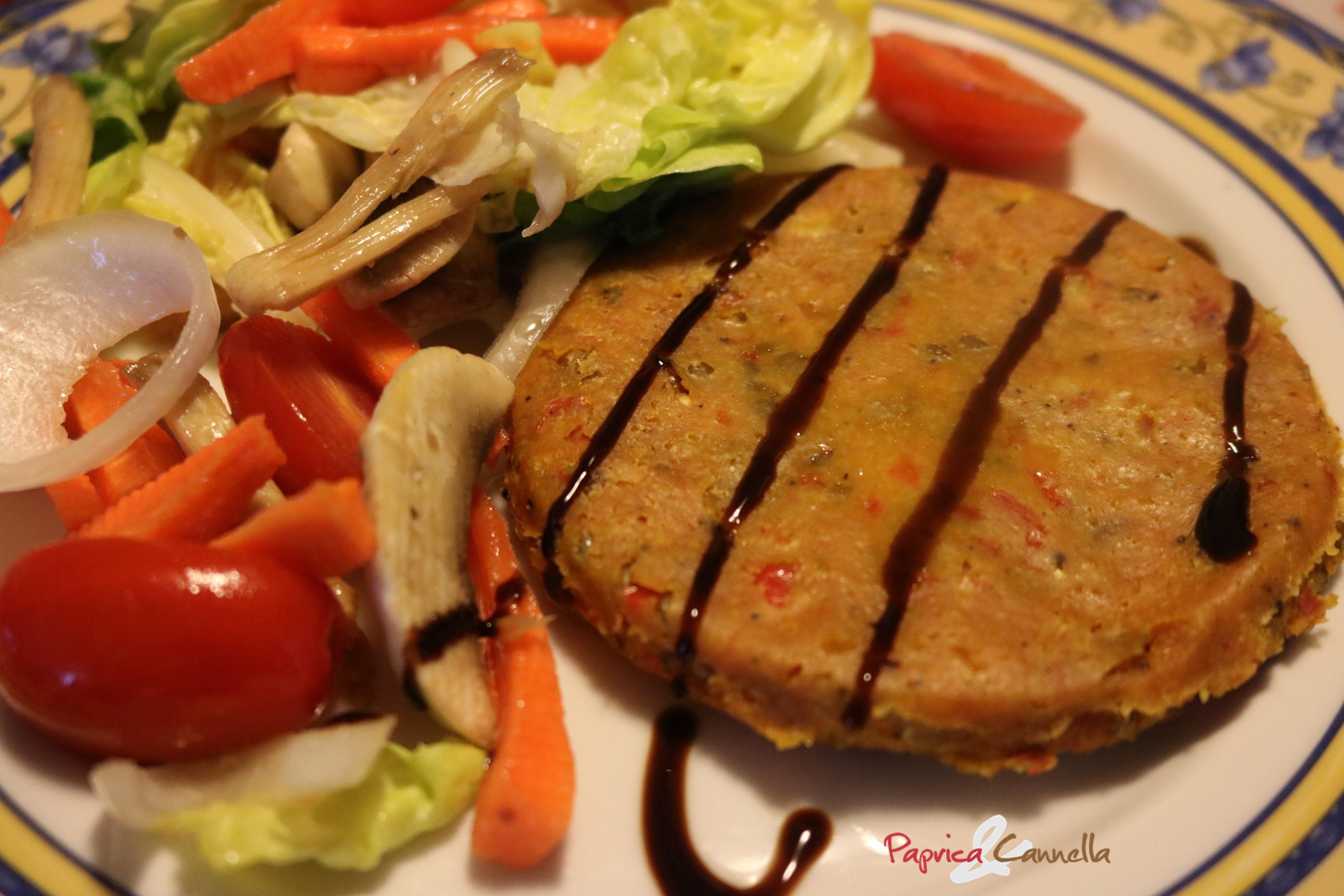 Hamburger di lenticchie Veggie