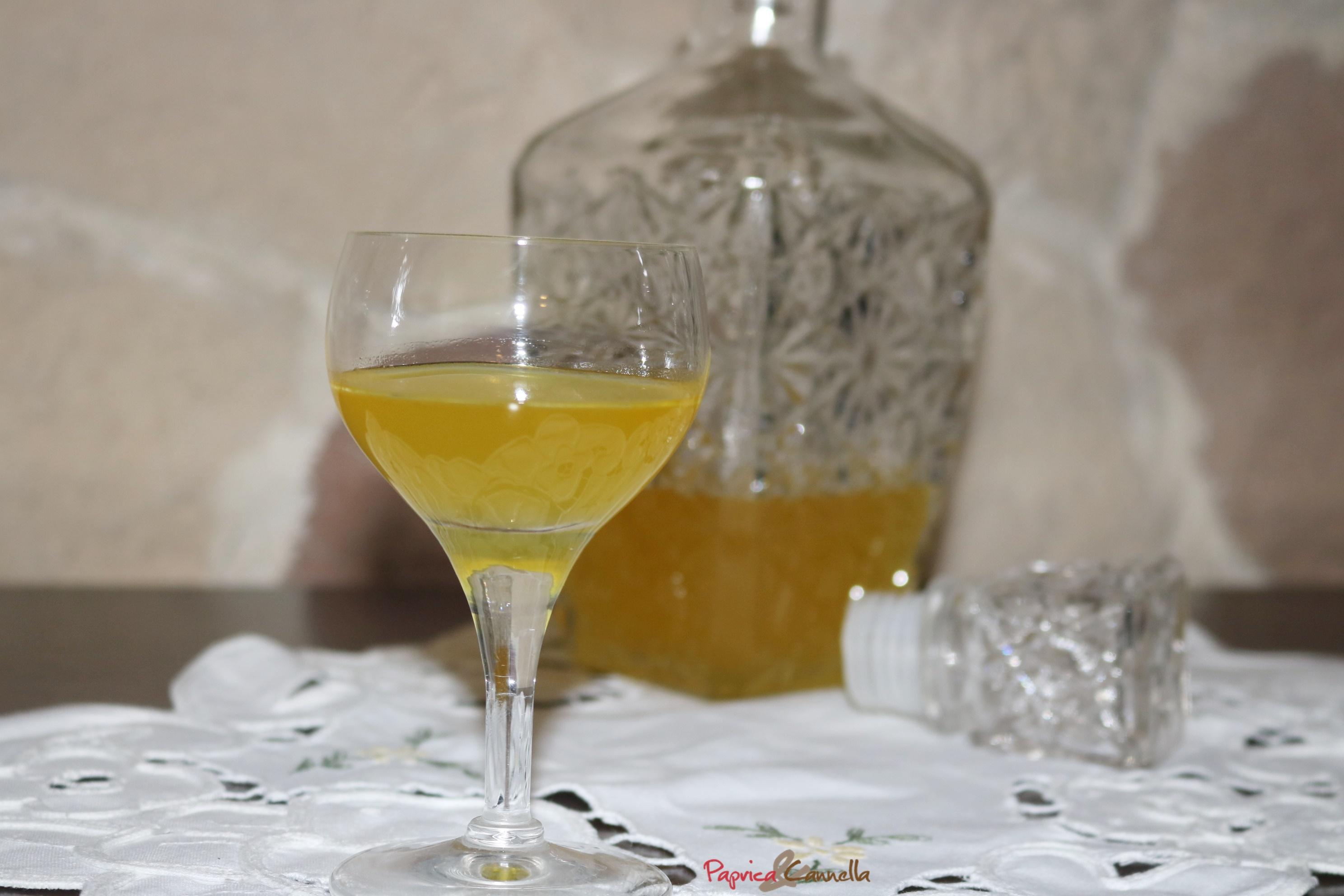 Liquore al mandarino della nonna