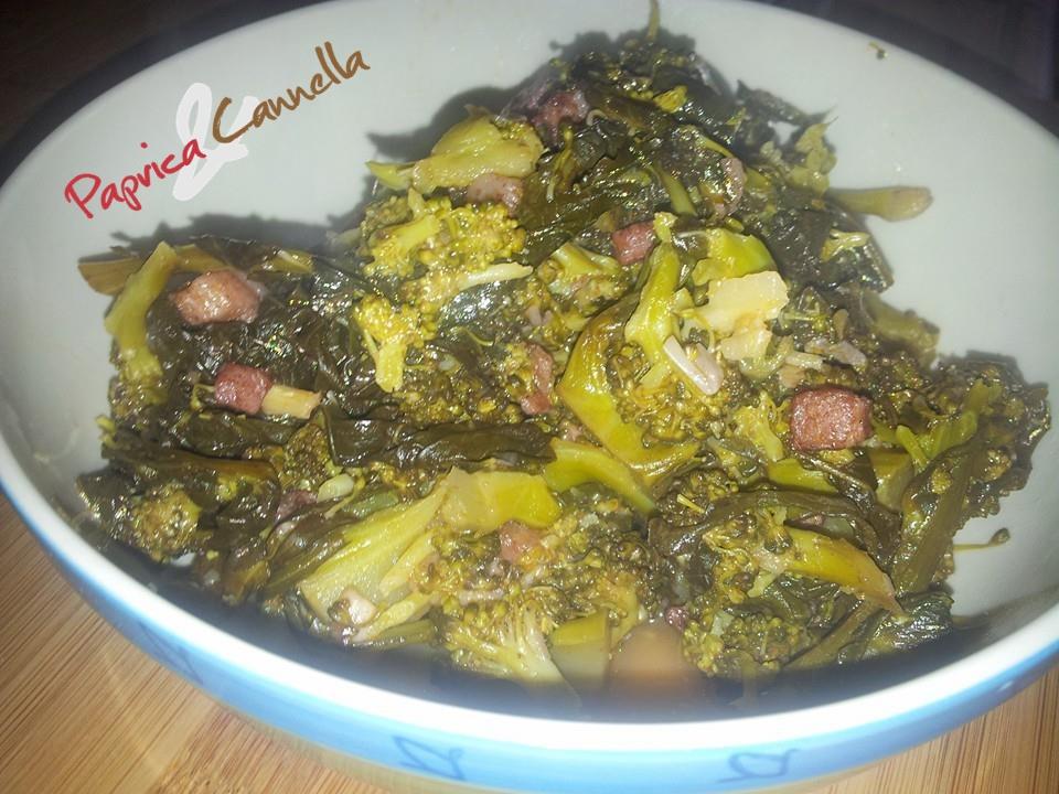Broccoli affucati, broccoli in umido ricetta siciliana