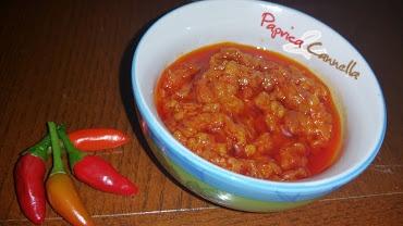 Pesto di peperoncino piccante