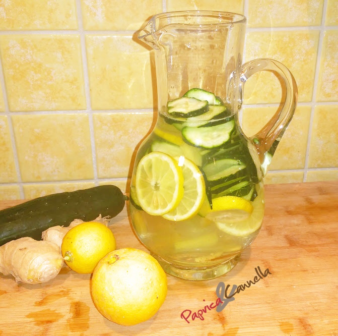 Detox Water – Bevanda anticellulite