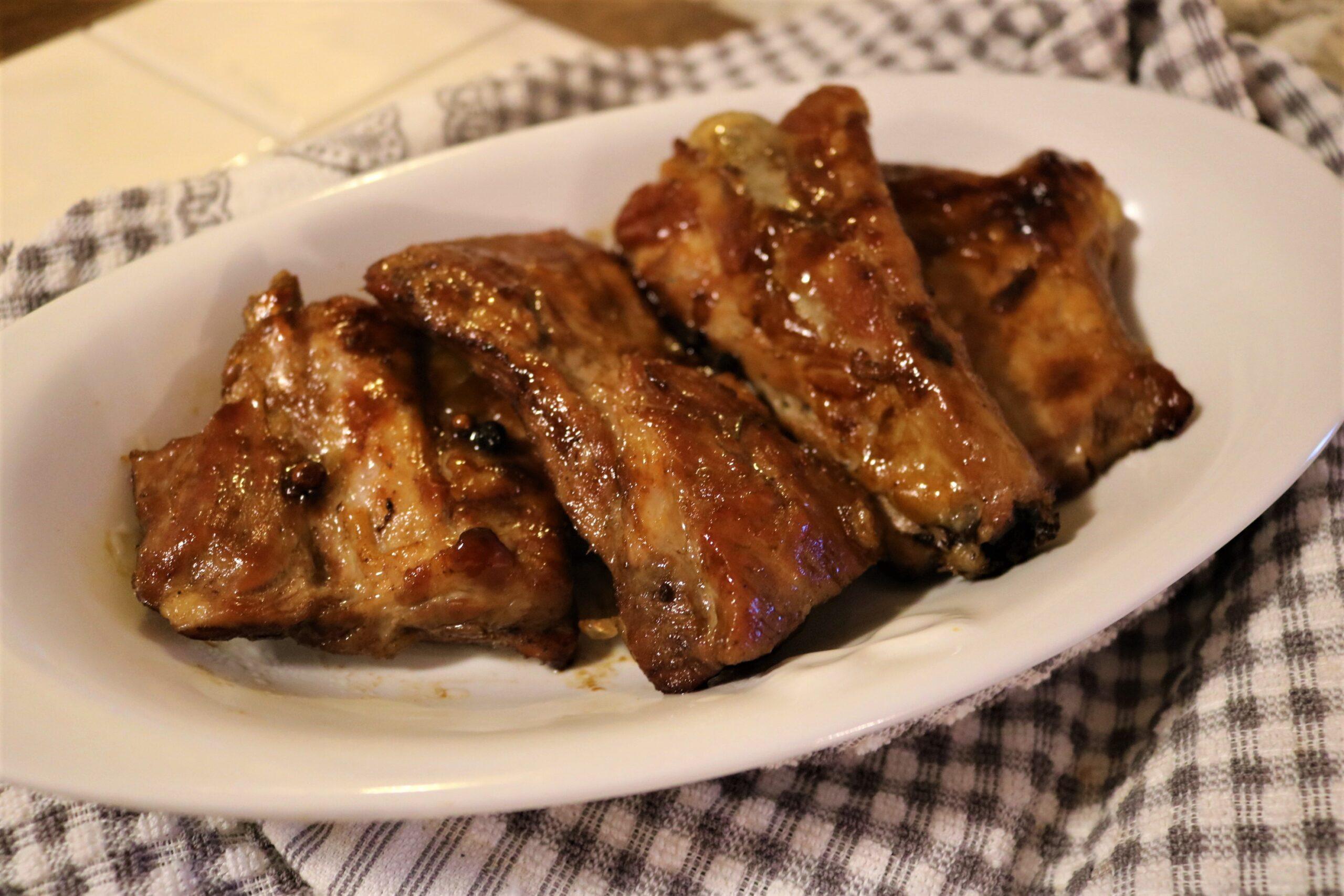Costolette di maiale al forno